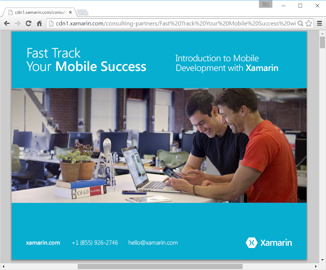Fast Rails Your Mobile Success Alongside Xamarin – Gratuitous Ebook
