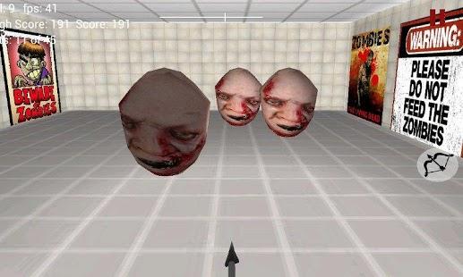 prostitute zombie 3d archery target