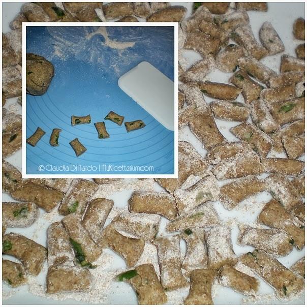Gnocchi di zucchine e segale con pomdorini