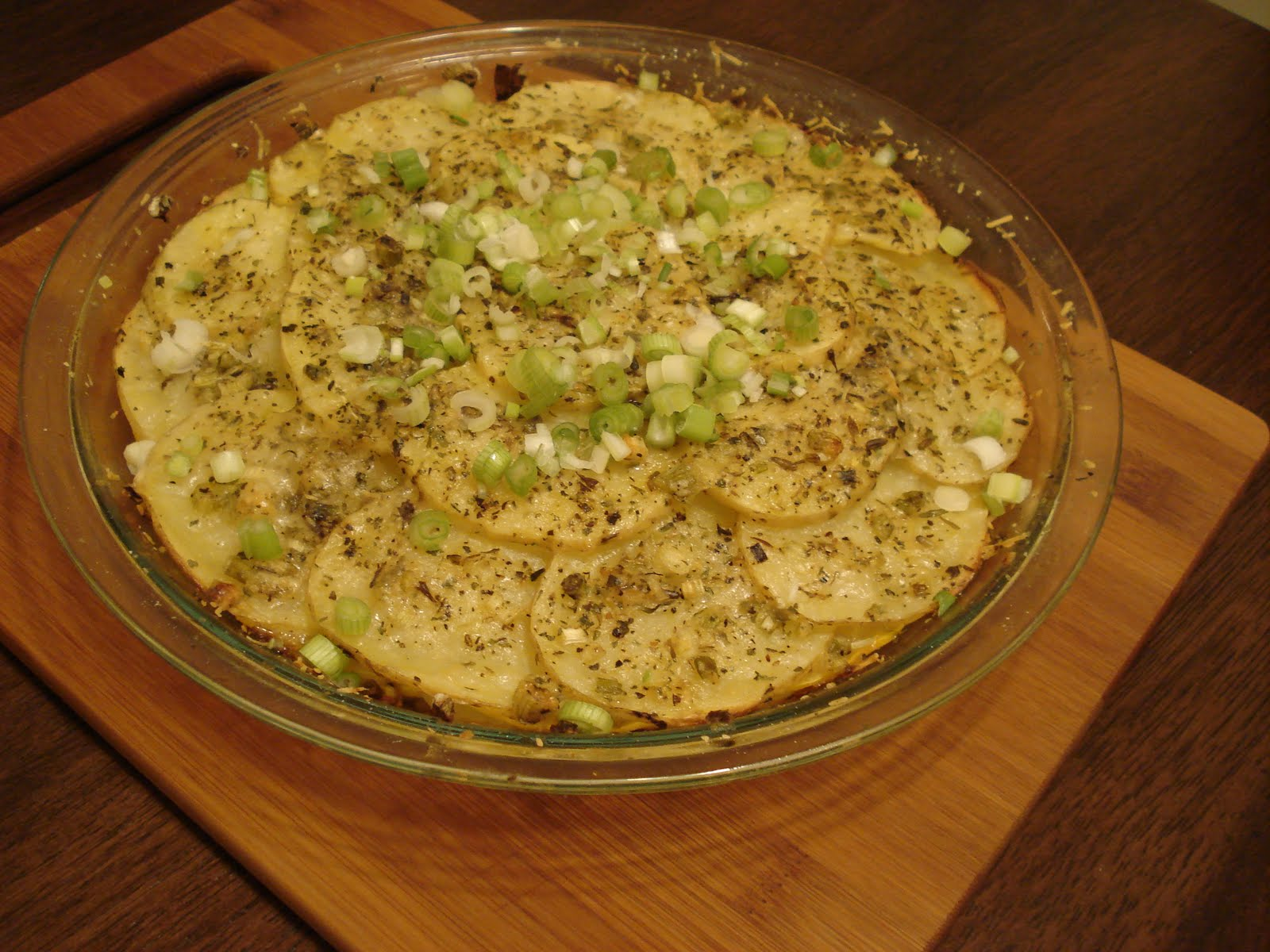 My Big Green Cookbook: Herbed Summer Squash and Potato Torte