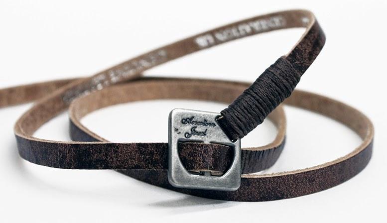 American Jewel Leather Bracelet