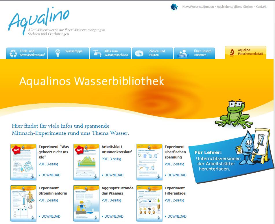 Freiarbeit in der Grundschule: Experimente rund um das Thema Wasser ...