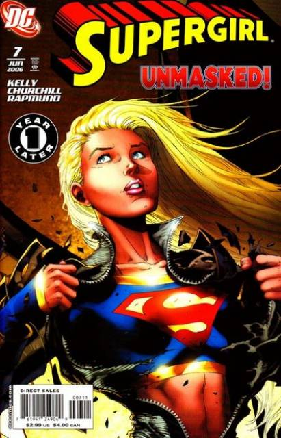 SUPERGIRL #07 (CHURCHILL ART)