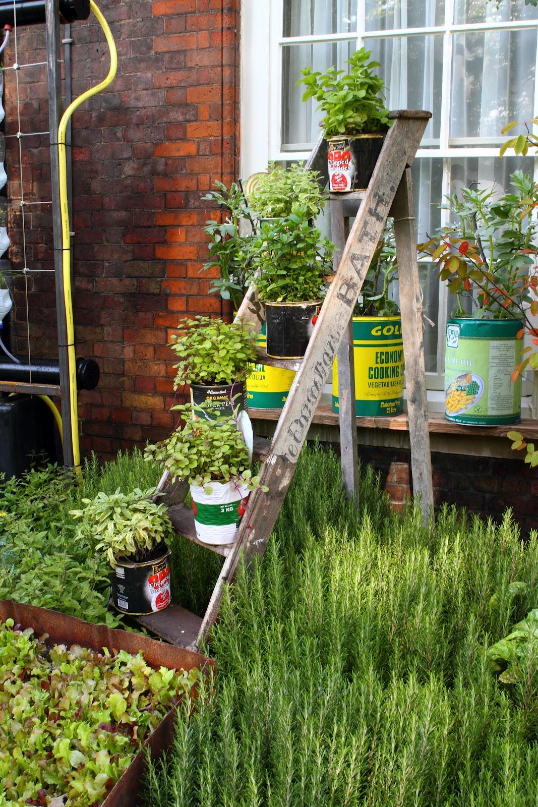 Deb 39 s dust bunny prince charles 39 sustainable garden party - Estantes para plantas ...