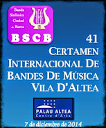 "41 Certamen Internacional de Bandas de Música ""Vila d´Altea"""