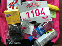 Goodie Bag for shape run 2012
