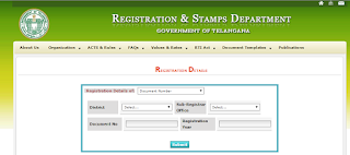 what we Required for Registration details of Document number image