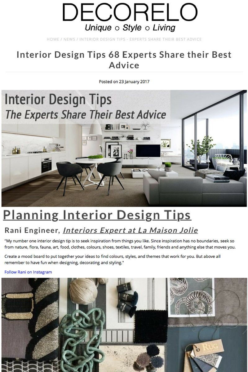 DECORELO INTERIOR DESIGN TIPS 68 EXPERTS SHARE THEIR BEST ADVICE