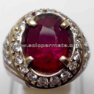 Batu Permata   Natural Merah Ruby Asli   Natural Corundum Warna Merah