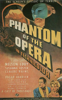 Phantom of the Opera (1943) Poster