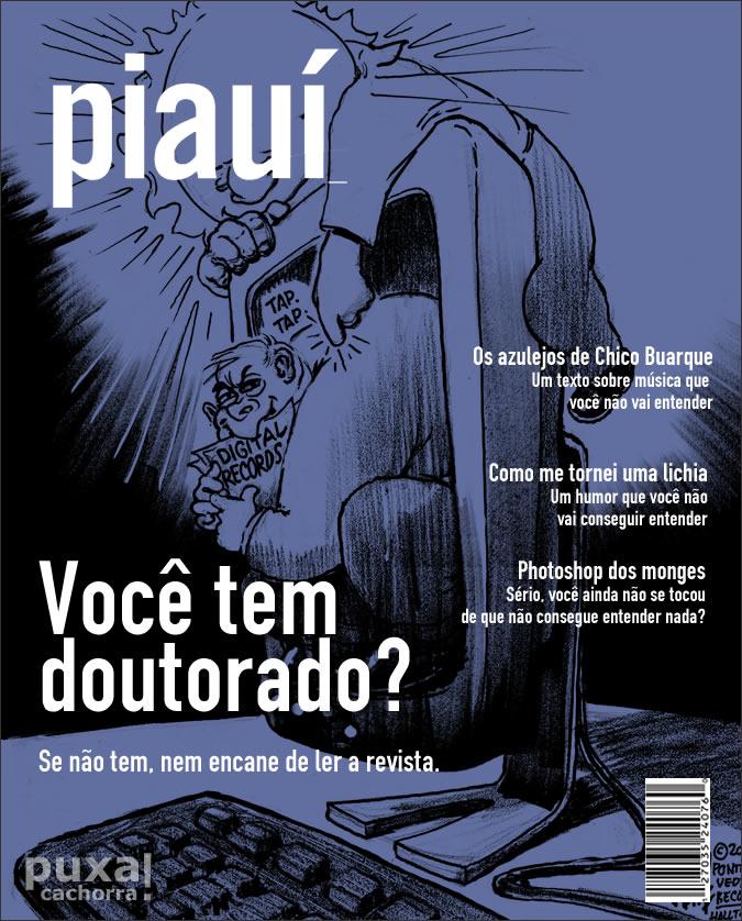 Capa sincera de Piauí