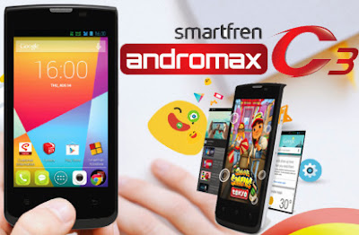 Smartfren Andromax C3 - HP Android KitKat Termurah