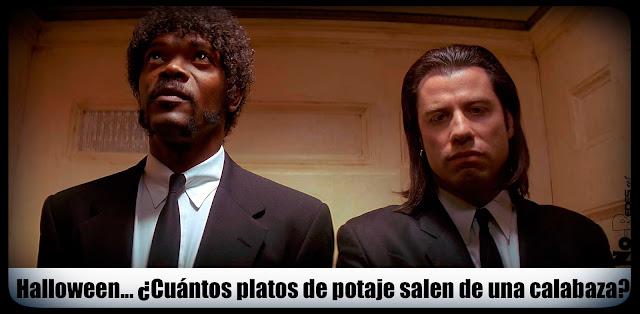 Pulp Fiction conversaciones del ascensor