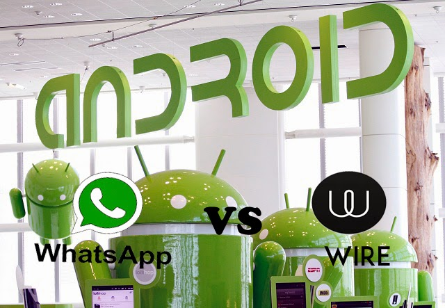 Apakah Aplikasi Wire akan menjadi saingan terberat WhatsApp?