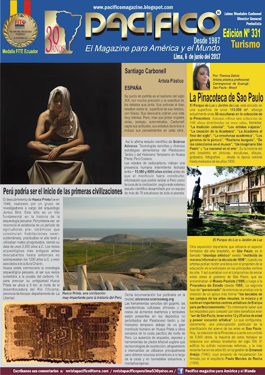 Revista Pacífico Nº 331 Turismo