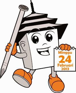 Logo Pilgub Jabar tahun 2013, Ayo Nyoblos Minggu 24 Februari 2013