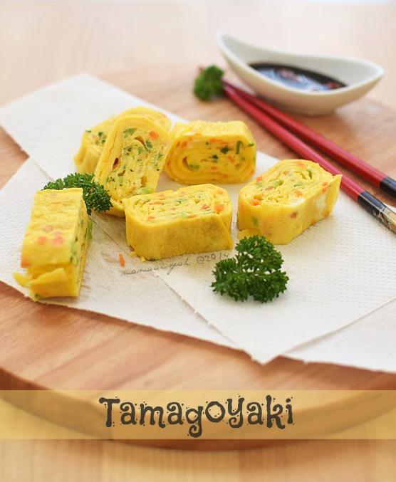 Tamagoyaki | Telur Dadar Gulung khas Jepang