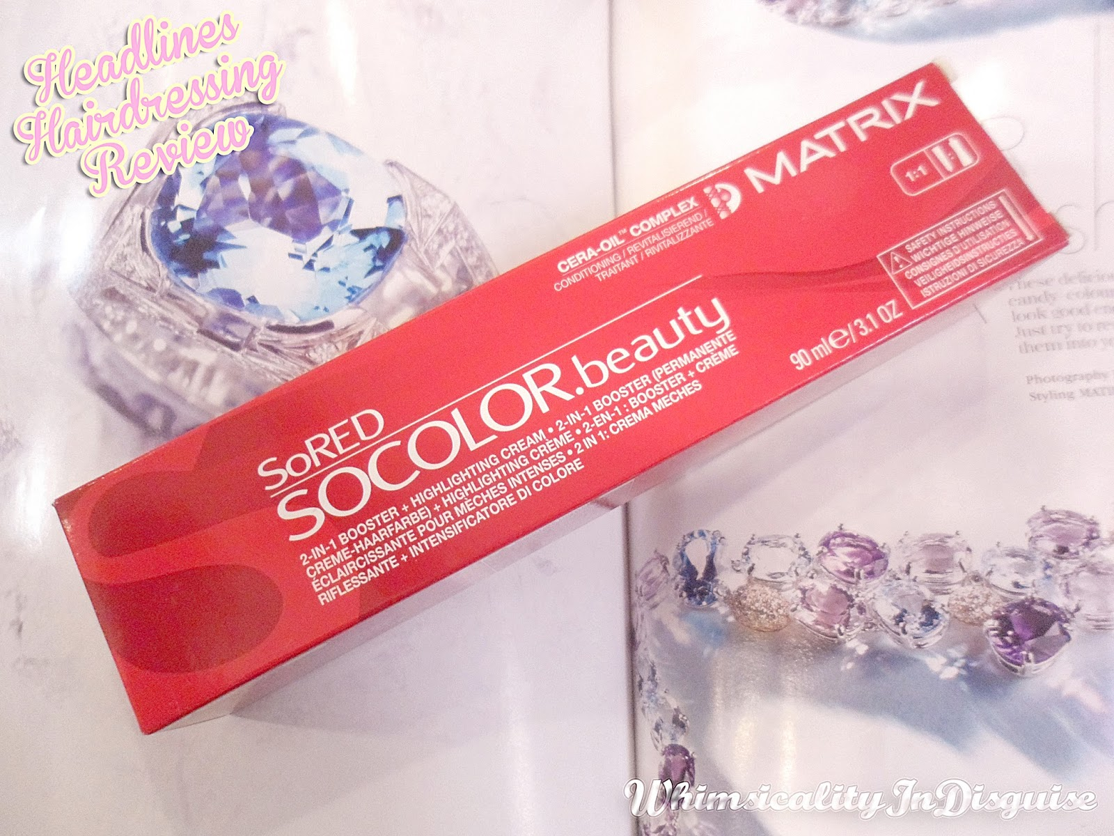 Matrix SOCOLOR.beauty Special Collection- SoRED review