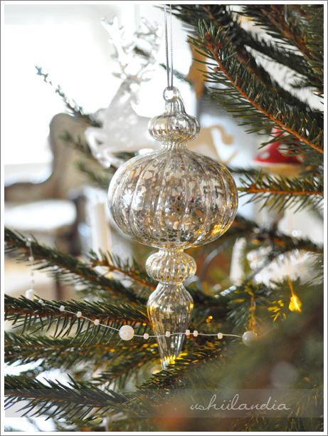 szklane bombki posrebrzane postarzane / vintage mercury glass christmas ornaments
