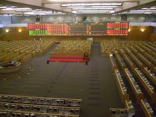 SSE Shanghai Stock Exchange trading floor