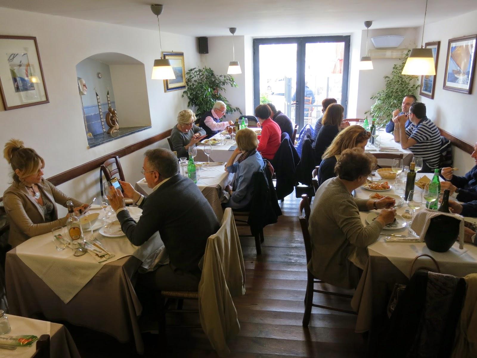 Il Gambero restaurant, Le Grazie, Portovenere
