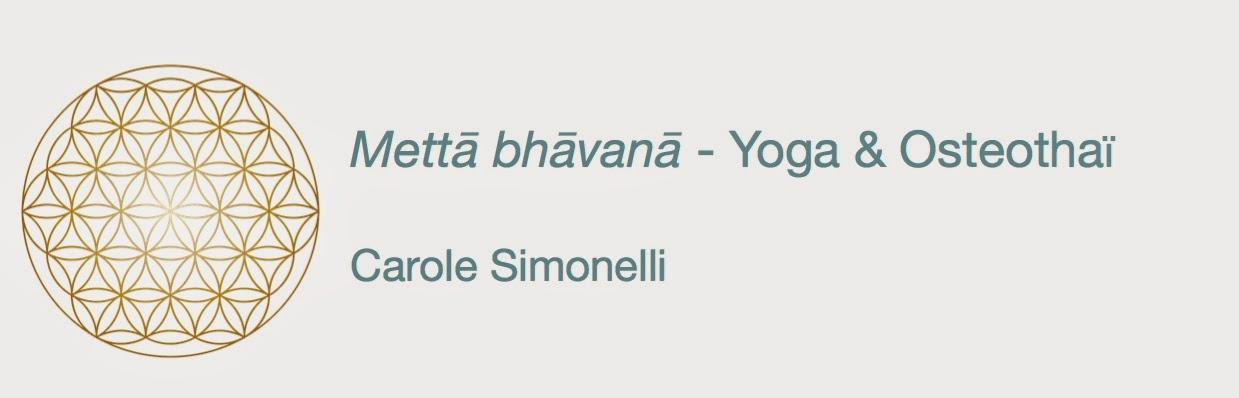 Mettā bhāvanā - Yoga Osteothaï - Carole Simonelli