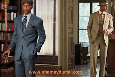 Nhà may Đức Tài - Phong cách áo vest Mỹ