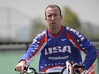 Kyle Bennett, BMX cyclist, accident, Olympic
