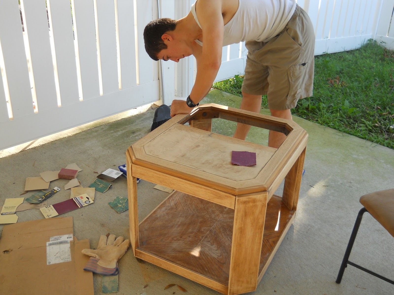 Blue Stain Wood Flooring also Stained Glass Jewelry Box besides How To Make DIY Bookshelves moreover Black Brown Wood Stain Paint moreover Materials  Fasteners  And Tools For Building A  posite Deck. on emerald green wood stain
