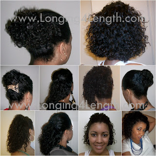 EbonyCPrincess Braidout Collage