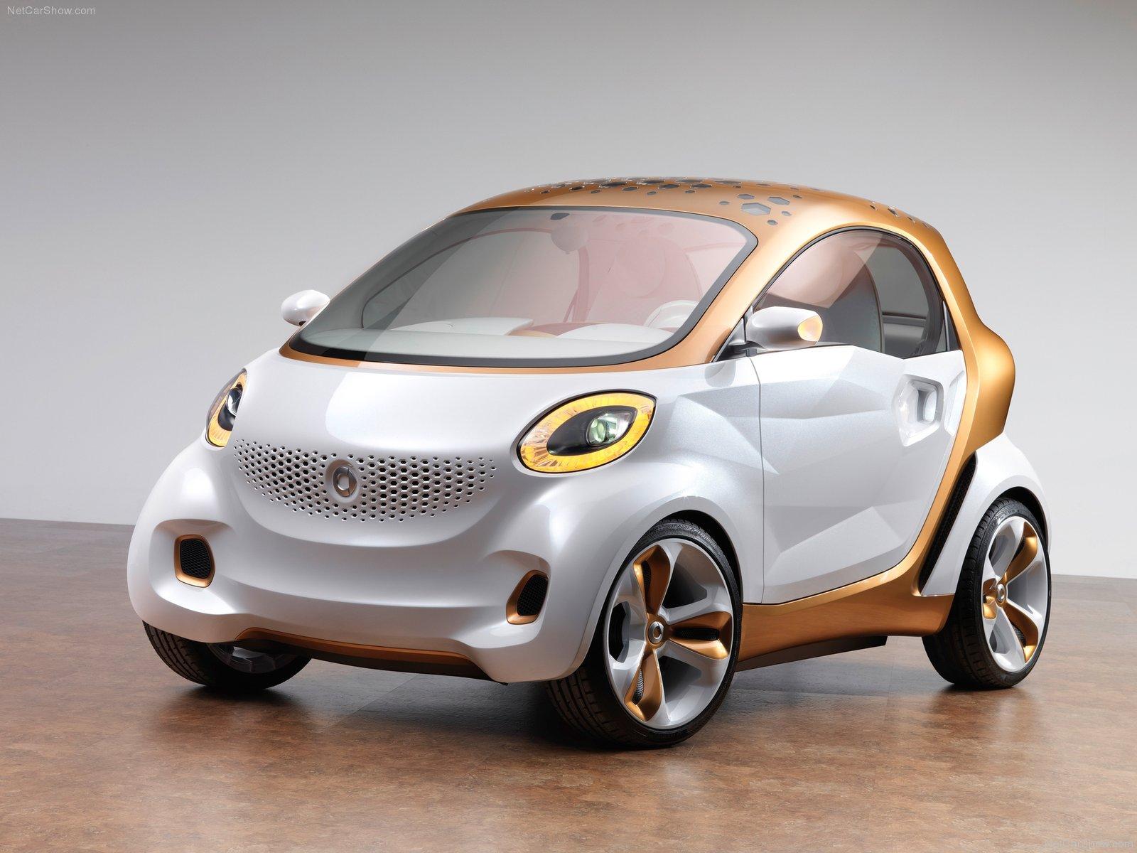 Hình ảnh xe ô tô Smart forvision Concept 2011 & nội ngoại thất