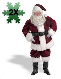 Majestic Santa Suit (Size 58-62) Costume