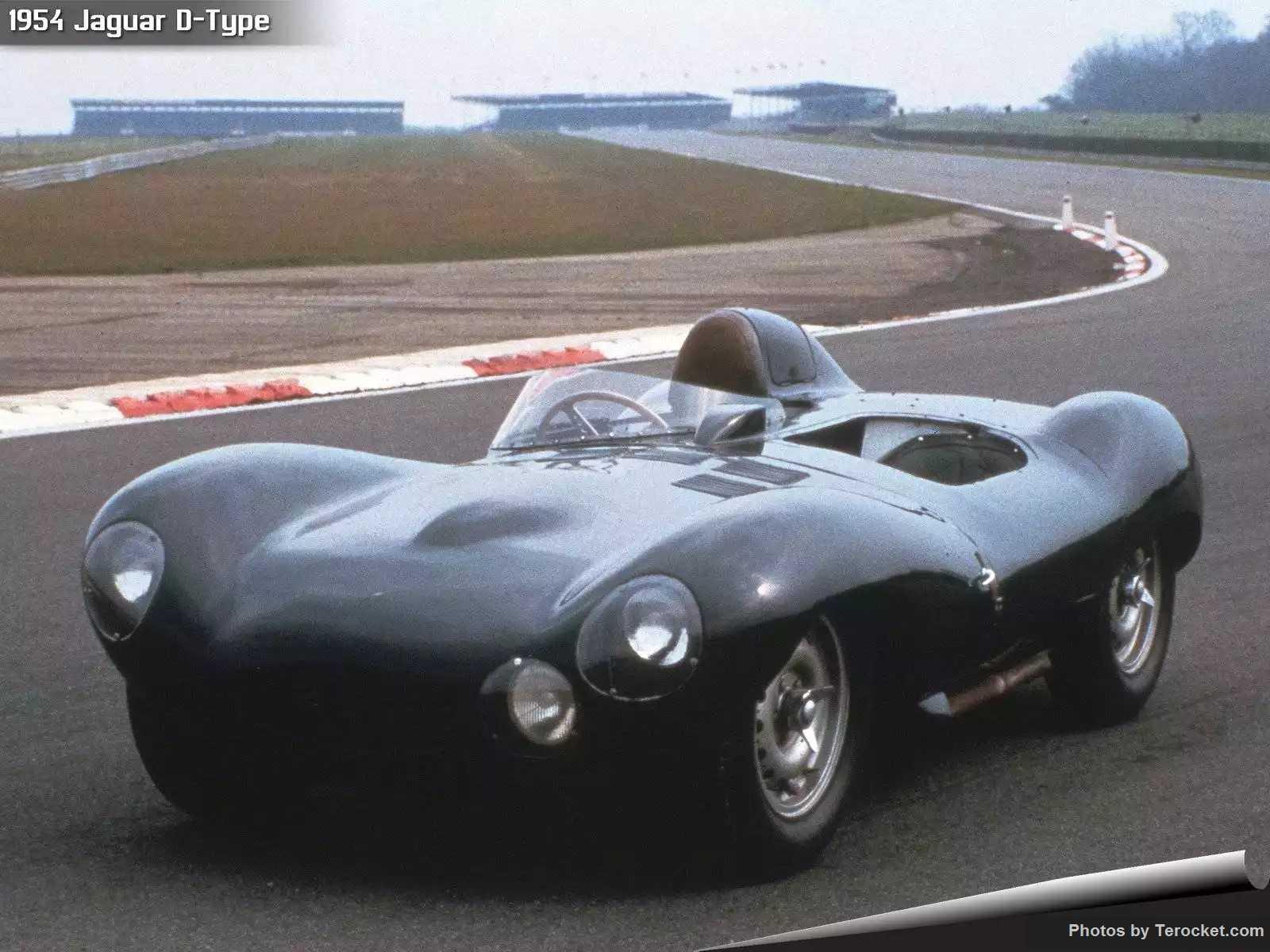Hình ảnh xe ô tô Jaguar D-Type 1954 & nội ngoại thất