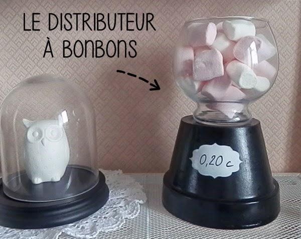 DIY : Distributeur à bonbons (récup')