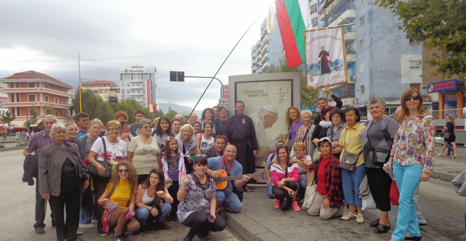 Albania con Papa Francesco 2014
