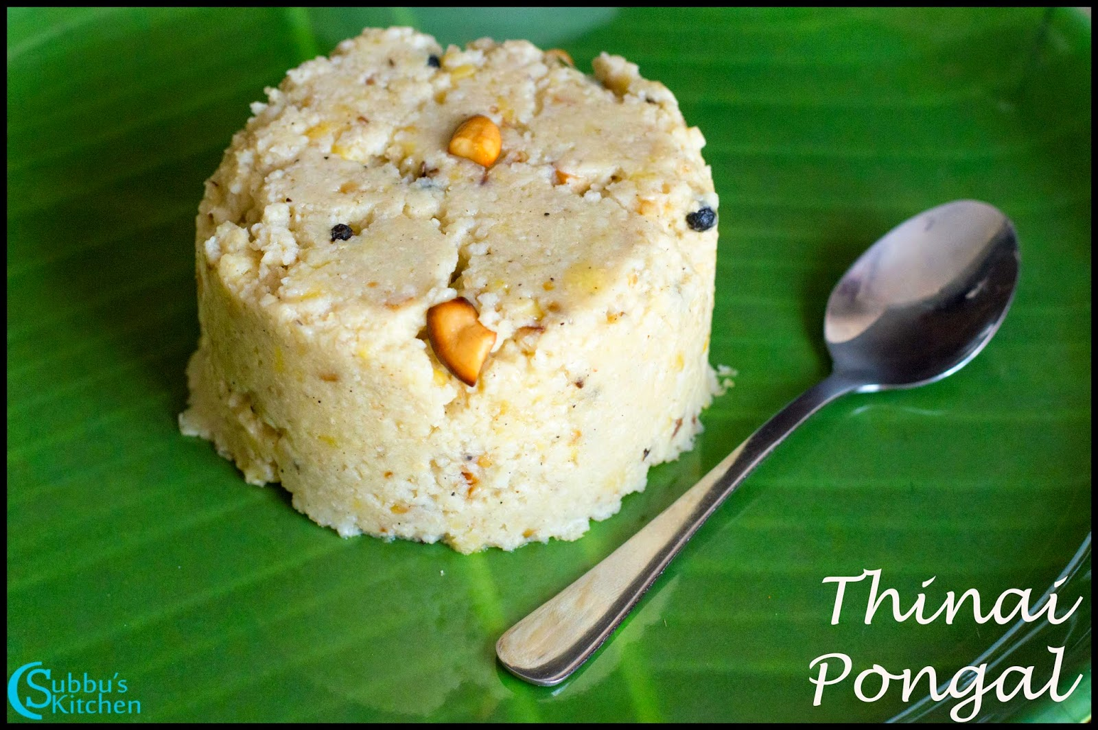 Thinai Pongal Recipe | Finger Millet Pongal Recipe| ,Kangni Pongal Recipe