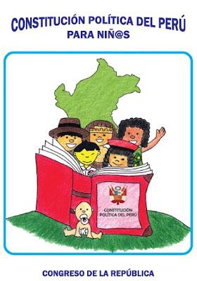 Descarga la Constitución Política del Perú para Niños