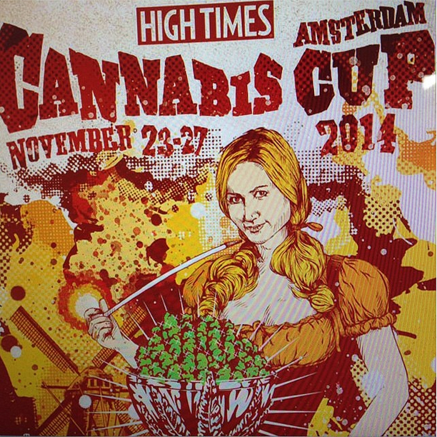 Cannabis Cup 2014 Amsterdam