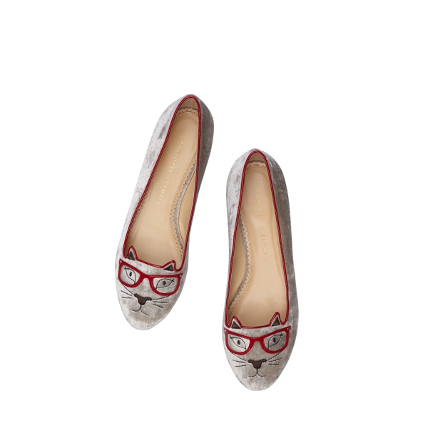 Clever Kitty - Charlotte Olympia 'Kitty & Co' Cat Flats Collection