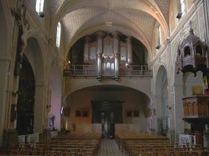 L'orgue de l'église Ste Eulalie à Montpellier