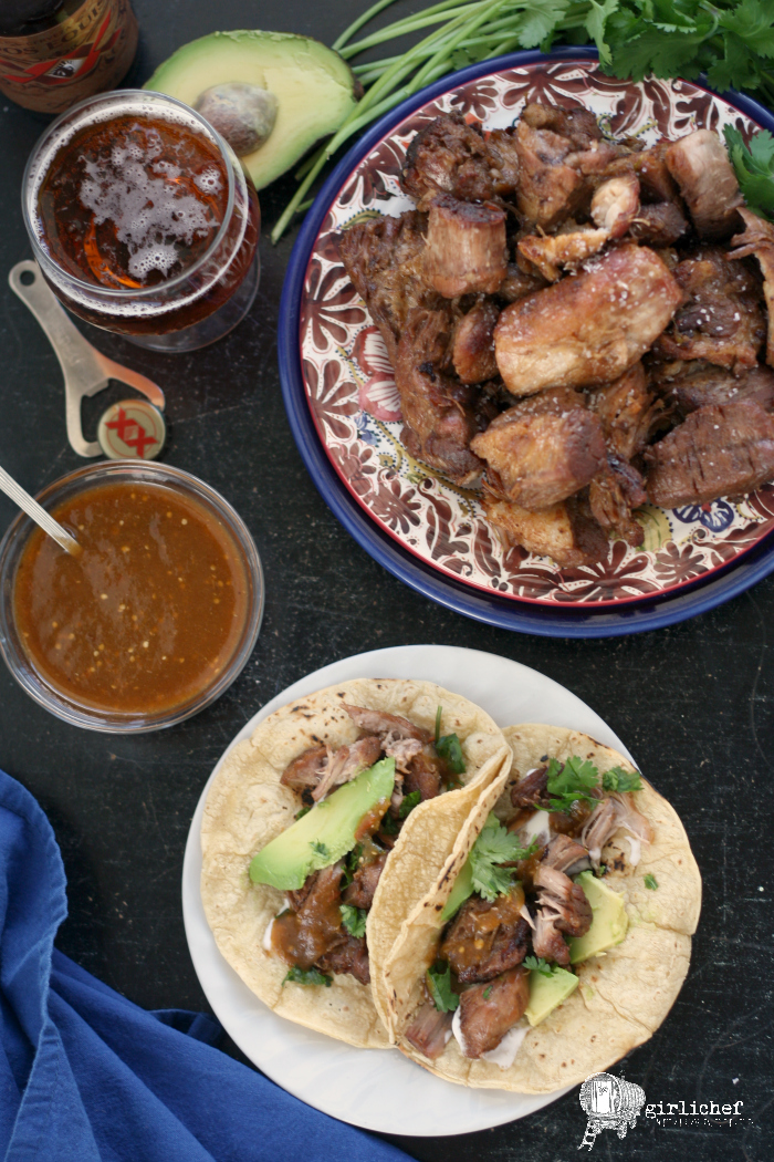 Beer Braised Pork Carnitas | #BeerMonth - All Roads Lead to the ...
