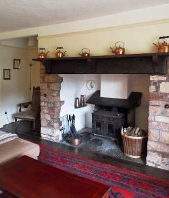 Inglenook Fireplace at Roadwater Somerset