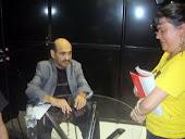 Edgar Vivár (Sr Barriga) e eu 11/08/2012