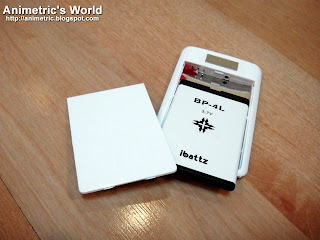 iBattz Mojo Removable Power Card Wallet