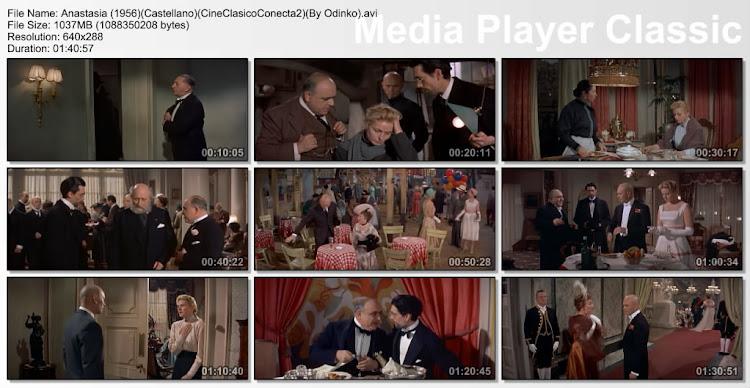 Anastasia (1956) | Capturas de pantalla