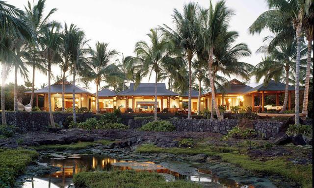 Tropical Courtyard House
