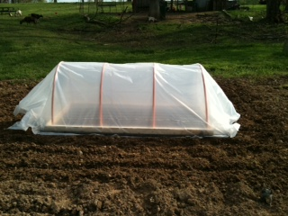 Building a Mini Greenhouse  – 4/8/12