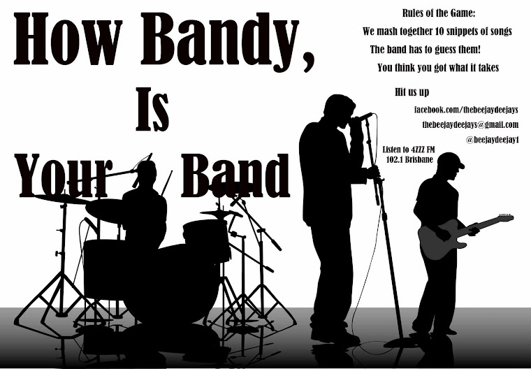 A little segment we like to call: How Bandy is the Band?