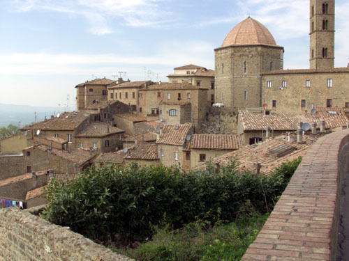 Volterra - La Toscana - Italia - que visitar