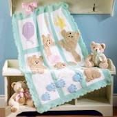ayıcıklı battaniye